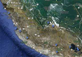 Perù 2012 percorso
