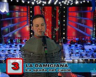 La Damigiana - La spada nel cuore - ControFestival Carnevale 2009