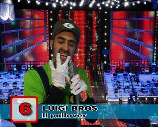 Ringraziamenti - Luigi Bros - Il pullover - ControFestival Carnevale 2009
